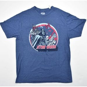 Other - STAR WARS Men's Short Sleeve Tee T-Shirt NWT Med